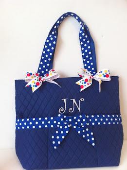 Carteras decoradas con cintas