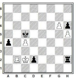 Final de ajedrez compuesto por Joaquim Travesset (2013)