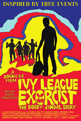 Ivy league exorcist cult film movie poster