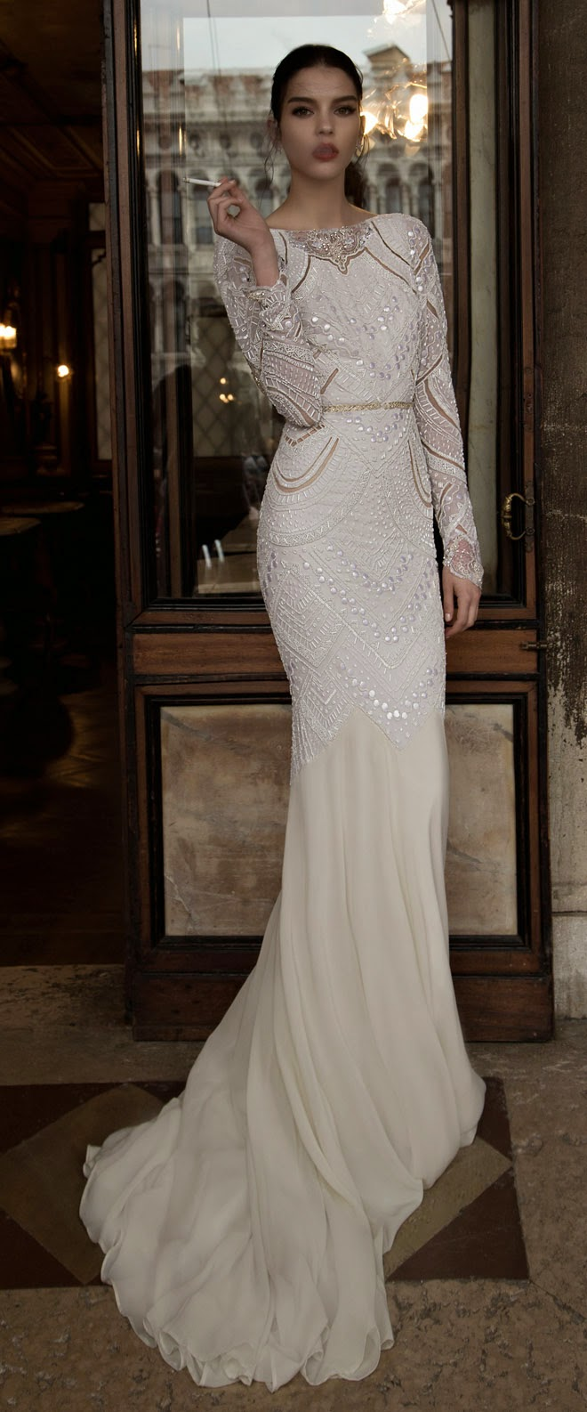 Inbal dror bridal collection 2015 altercouture for Israeli wedding dress designer inbal dror