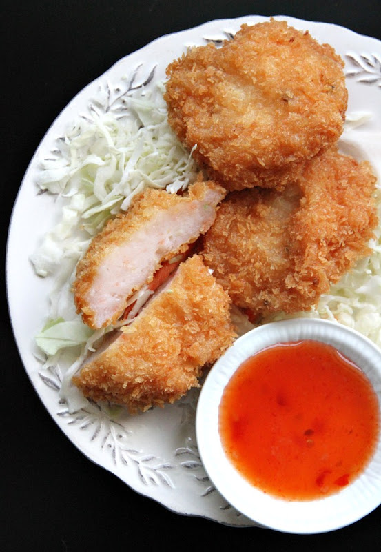 these fried shrimp cakes represent a tamer alternative to the curried ...