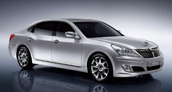 Hyundai Motors Nadaguides Chosed Hyundai Equus As Car Of