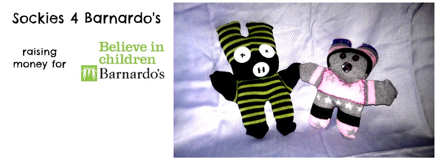 Sockies for Barnardo's