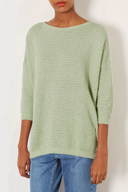mint green jumper
