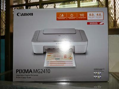 reset printer canon pixma mg 241