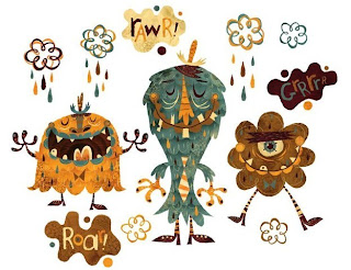 printable monsters
