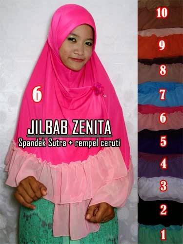 jilbab anggun dan cantik untuk muslimah zaman sekarang