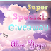 Super Special Giveaway by Alya Yaya
