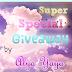 Super Special Giveaway by Alya Yaya
