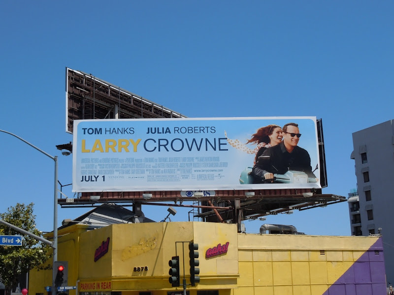 Larry Crowne movie billboard