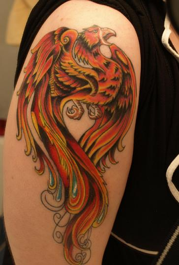aiz tattoo gallery phoenix tattoos pics and meaning. Black Bedroom Furniture Sets. Home Design Ideas