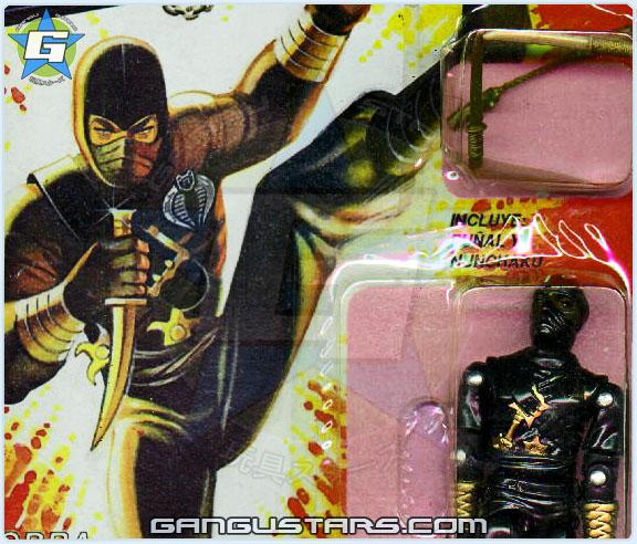 Plastirama G.I.Joe Cobra Black Ninja-Ku comandos em ação