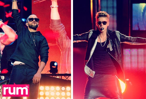 Justin Bieber 2014 Yandel 2014 song cancion Realeza Urbana Magazine