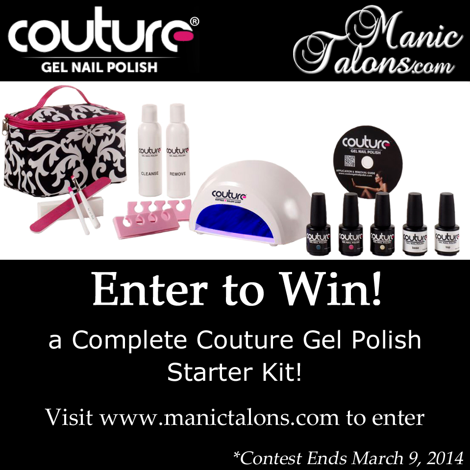 Couture Gel Polish Starter Kit Giveaway