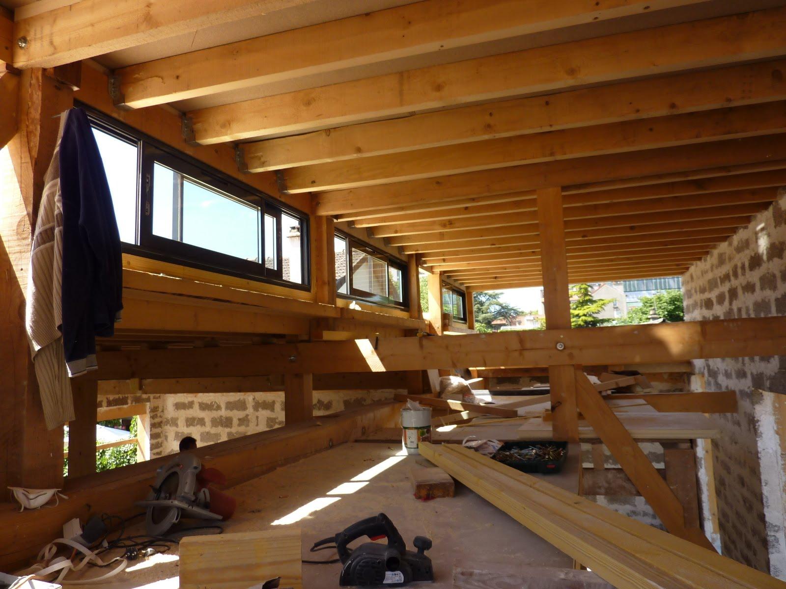 Modern Architecture Group Maison bois chantier