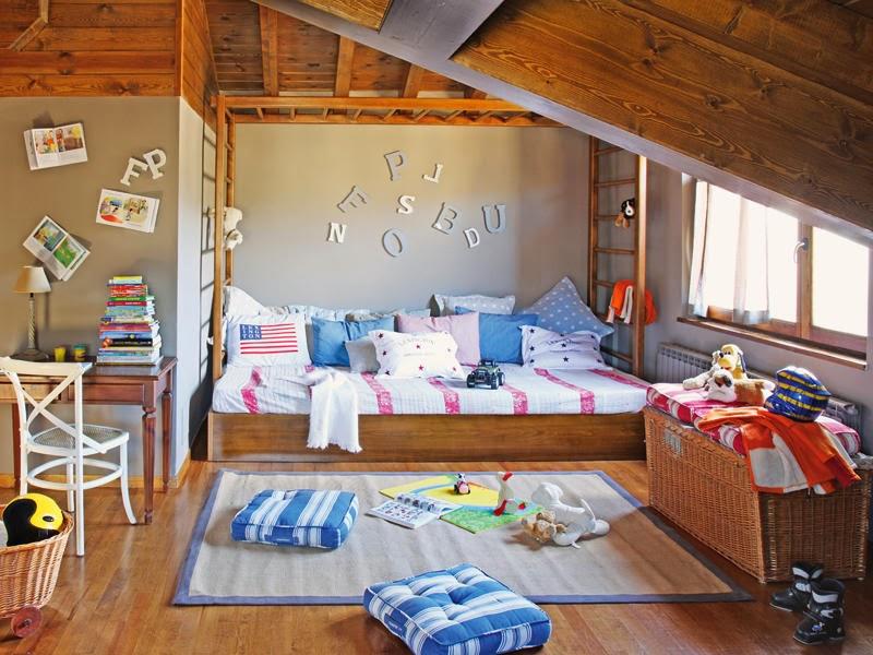 Amenajare rustic n cerdanya spania jurnal de design - Habitaciones infantiles rusticas ...