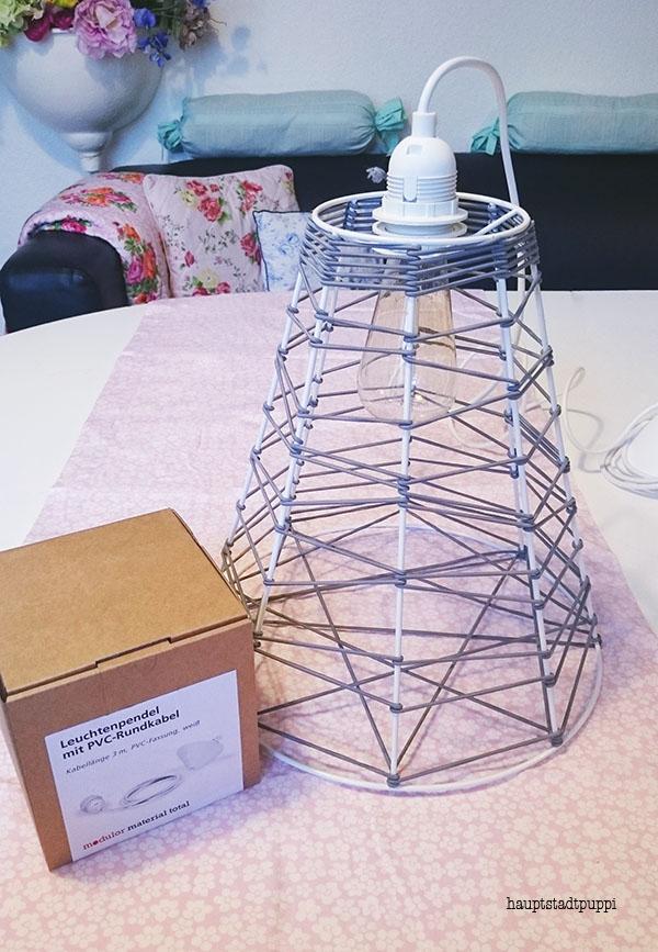 #DawandaConnect DIY-Lampen-Kit unterstützt von Modulor designt von Hauptstadtpuppi