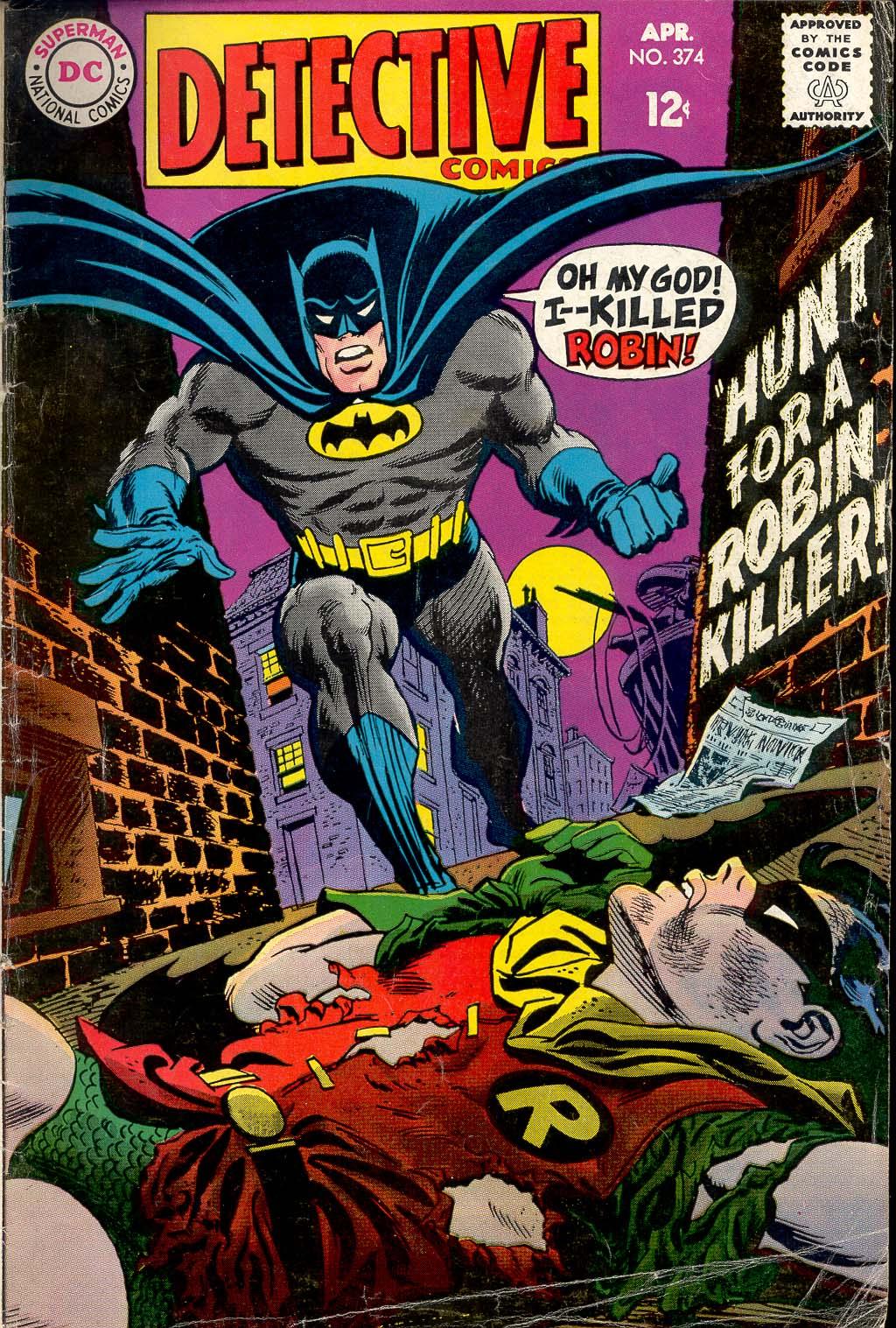 Detective Comics (1937) 374 Page 1