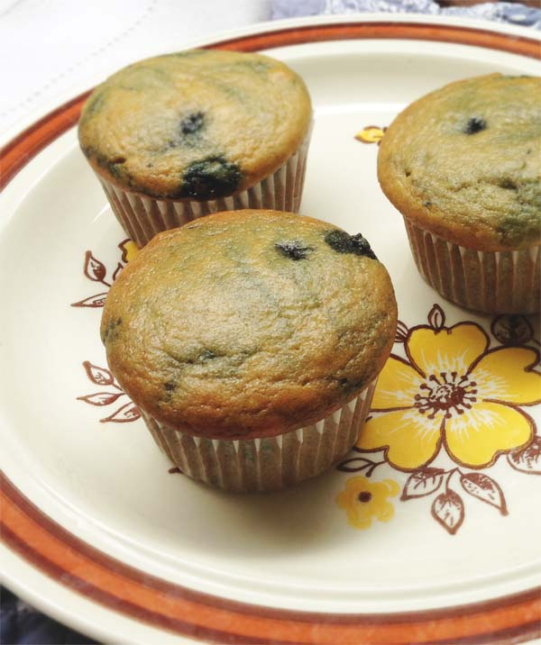 Paleo Blueberry Muffins with Almond Flour - Healing and Eating