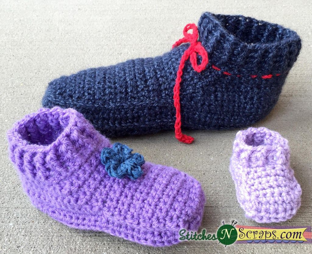 My Hobby Is Crochet: Crochet Slippers – 12 Free Crochet Patterns ...