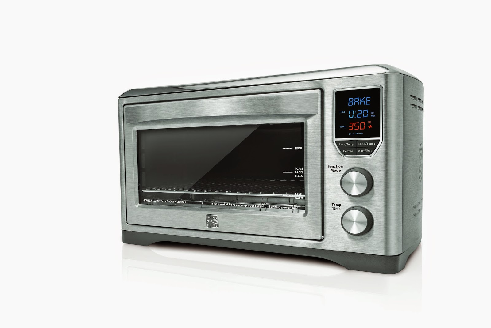 Kenmore Countertop Oven : receiving a countertop convection oven from Kenmore to review. Kenmore ...