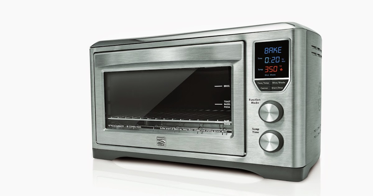 Countertop Oven Reviews 2014 : ... Chef Blog: Kenmore Elite Digital Countertop Convection Oven Review