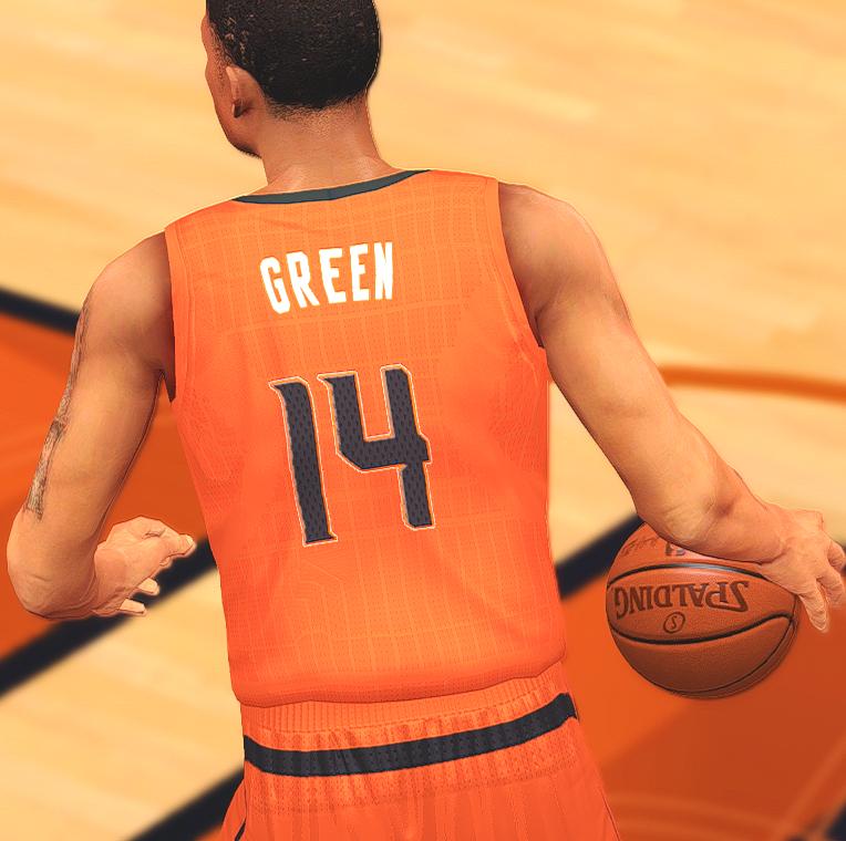 NBA 2K14 Redesigned Phoenix Suns Jersey Mods