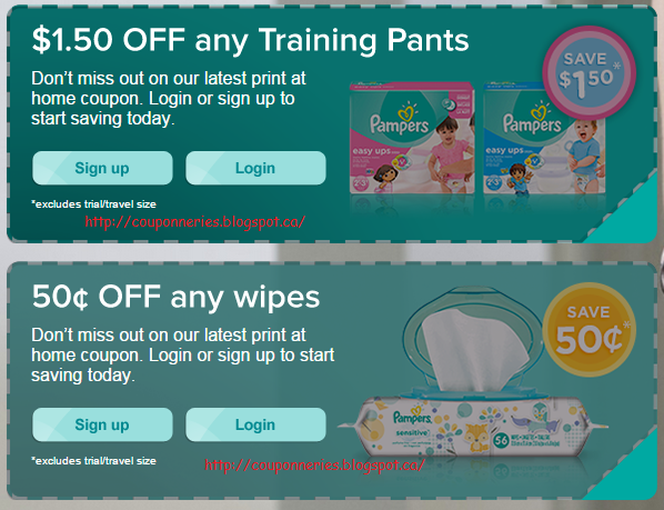 Coupons pampers a imprimer