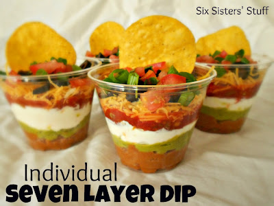 Seven Layer Taco Dip Cups