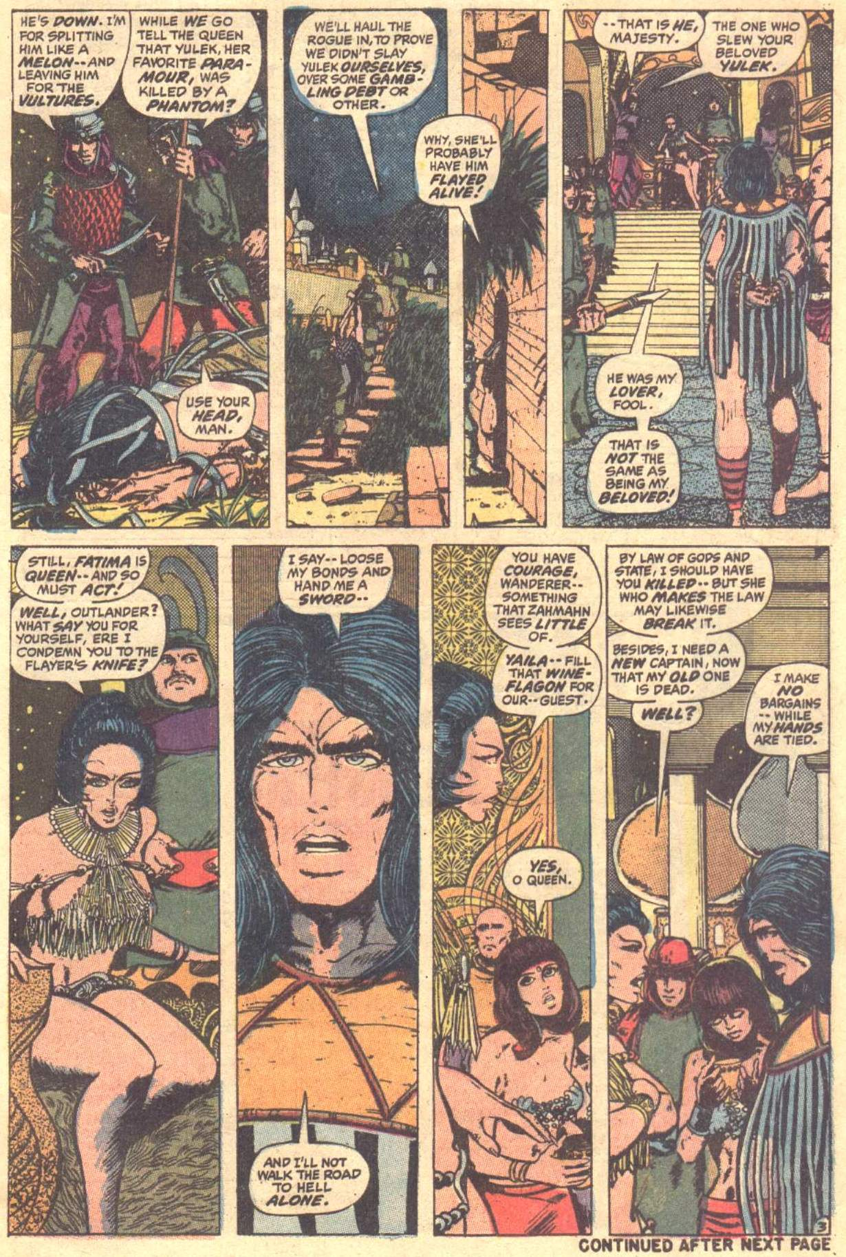 Conan the Barbarian (1970) Issue #12 #24 - English 4