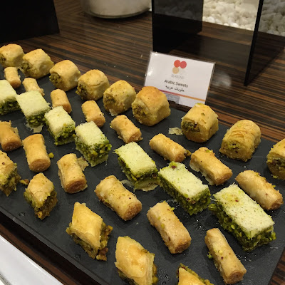 Venture & Roam: Arabic Sweets for dessert at Iftar buffet - Seasons Pullman Dubai