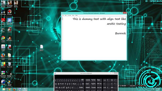 Cara Alternatif Mengetik Tanpa Keyboard Asli
