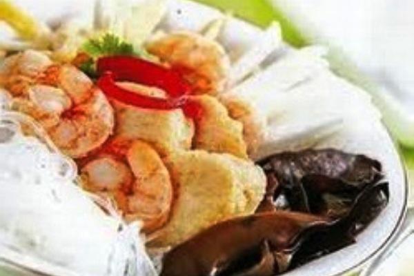 Palembang Tekwan Soups. Nusantara Culinary