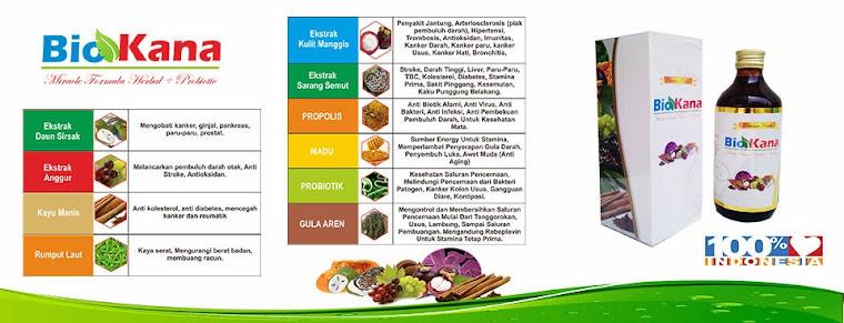 """Bio Kana """"New Miracle Formula Herbal plus Probiotic"""""""