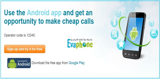 EvaPhone for Android Mobiles
