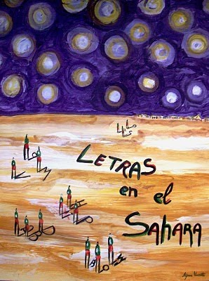 LIBRO-POEMARIO LETRAS EN EL SAHARA