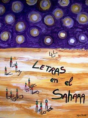 LIBRO-POEMARIO LETRAS EN EL SAHARA
