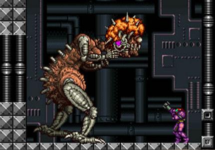 Mother Brain - Super Metroid (SNES)