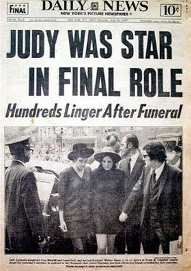 Trip down memory lane remembering the funeral of judy garland