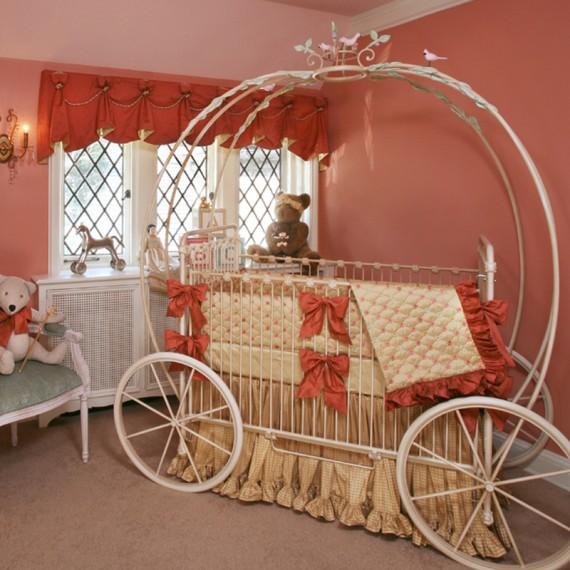 i heart pears cinderella carriage cribs