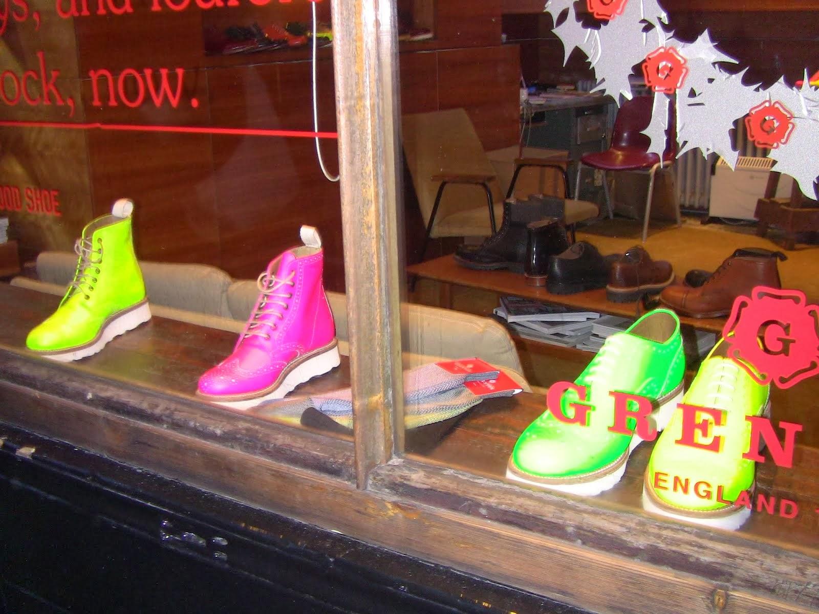des chaussures chic et choc!