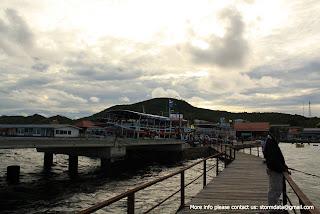 Pier to Koh Lan