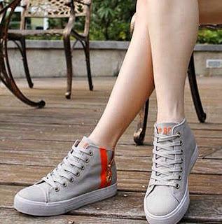Wedges Heels Sepatu Sandal Wanita Murah