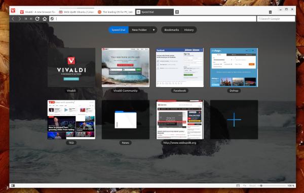 Vivaldi 1.0 Beta