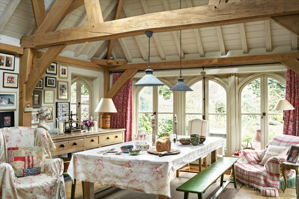 Decor Inspiration English Country House Cool Chic