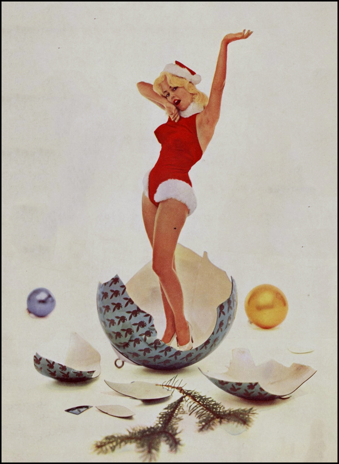 Fantasy Ink: Christmas 1960: Playboy Style
