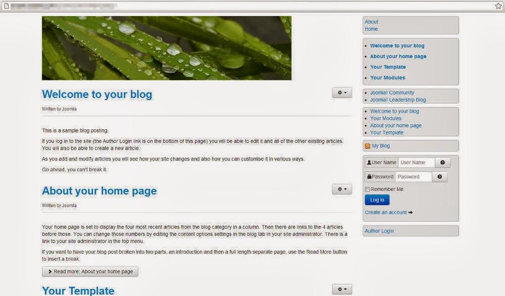 Diseño/Multimedia: Construcción de un template Joomla 3.0 con el ...