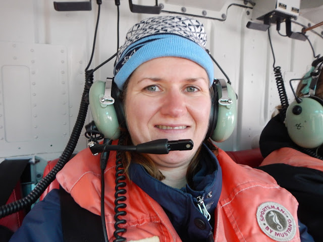Temsco Helicopter Glacier Tour Kristel