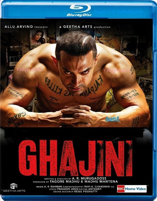 Ghajini (2008) - 1080p - BluRay - ALL Music VideoS - UDR - Multi-Links