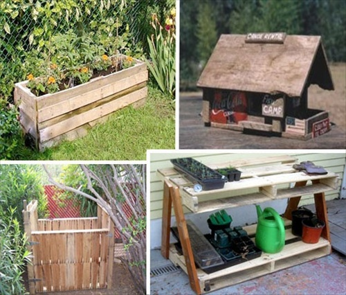 then you can add a sitting arrangement in your garden with the help of the pallet and create a wonderful pallet garden for your home